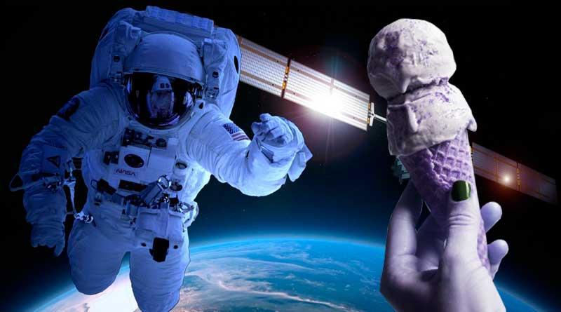Astronauta helado Nasa