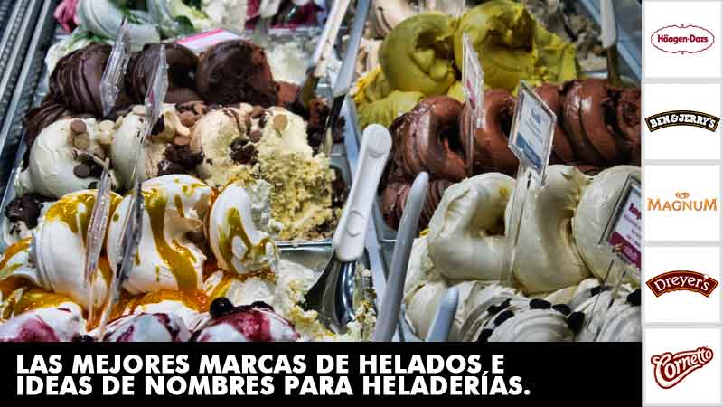Marcas de helados