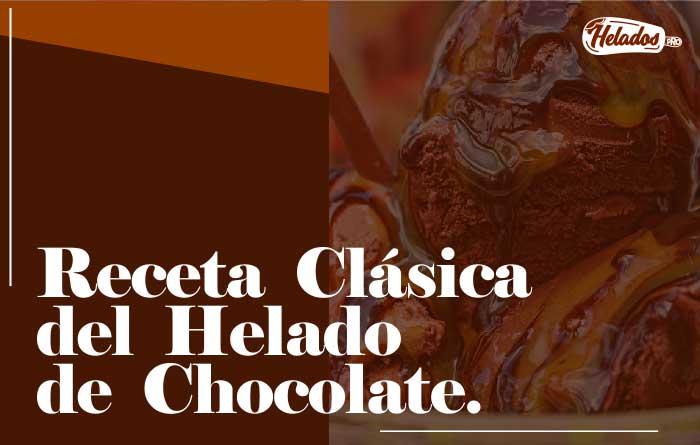 Receta helado de chocolate casero utilisima