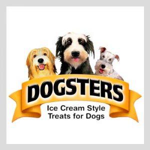 dogsters marca de helados para perros