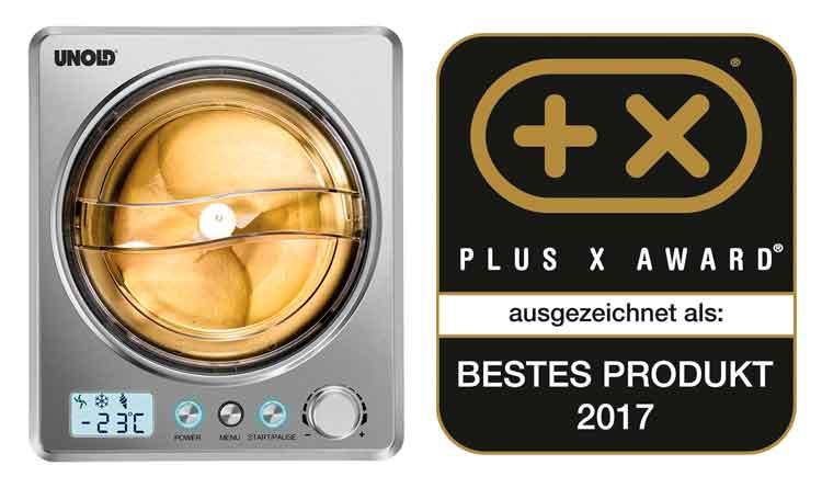 Unold Profi Plus ganadora Plus X Award